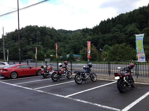 88七滝駐車場