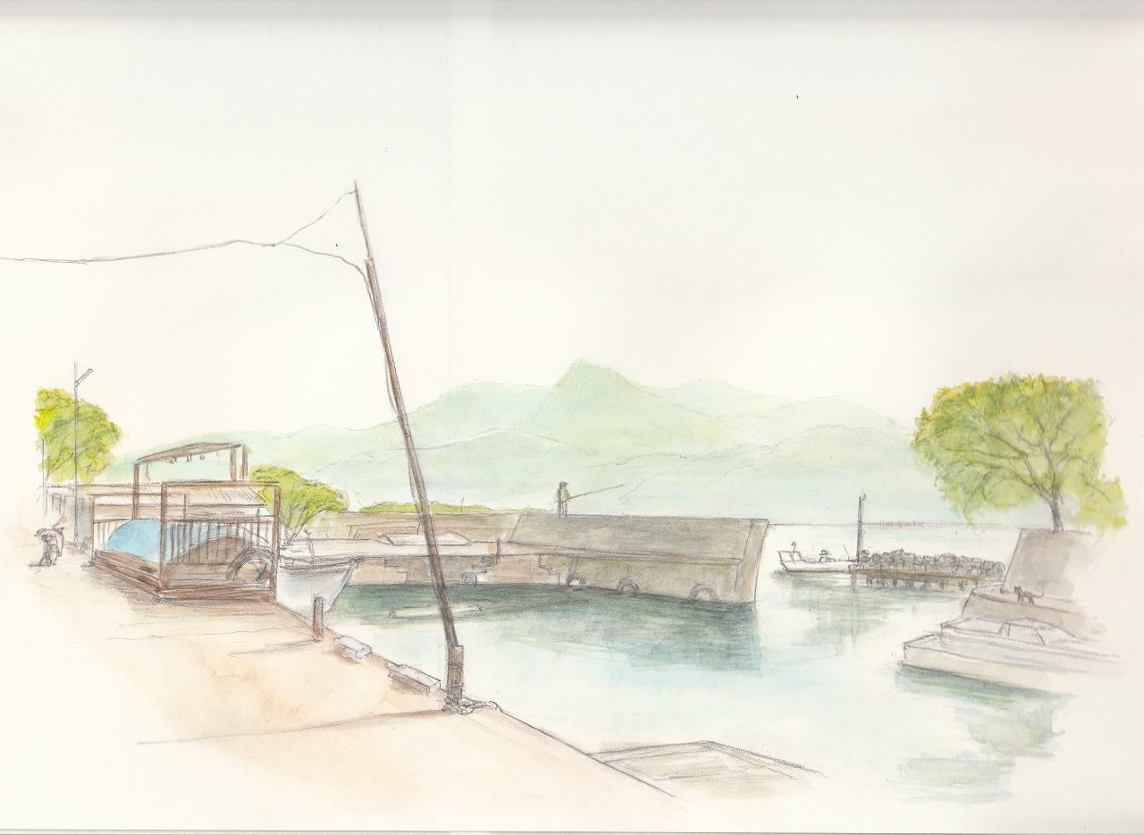 初夏 湖岸