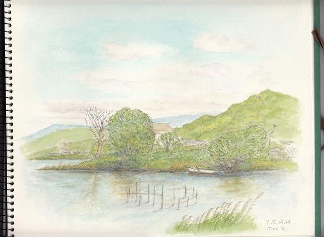 5月伊庭内湖