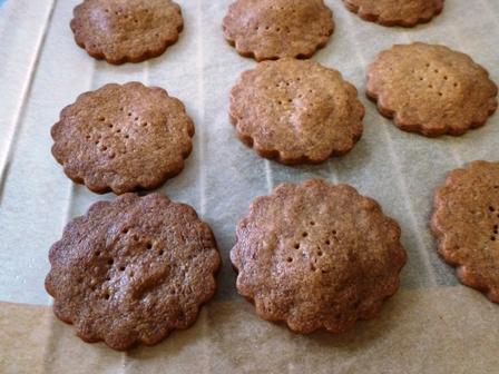穀物コーヒーのクッキー