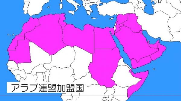 アラブの国々