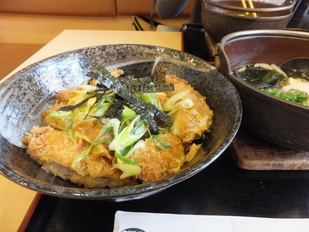 ミニカツ玉丼