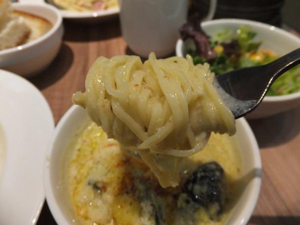 鶏ミンチと茄子のチーズグリーンカレー