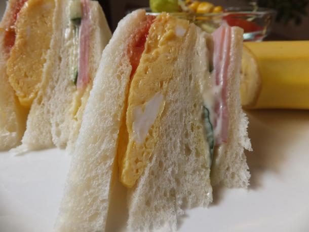 玉子のサンドイッチ