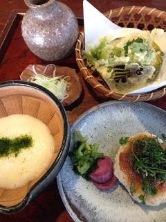 大松庵 玄米の膳