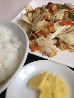 中華料理 チャイナハウス 日替わりランチ 1