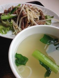 中華料理 チャイナハウス 日替わりランチ 2