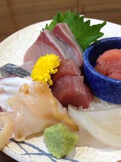 魚亭 岡ざき 漁師風 旬のお刺身ぶつ切り定食 1