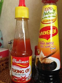 ベトナム食堂 フォーソン 調味料