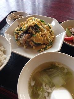中華菜館 盛華楼 うなぎと卵の炒め