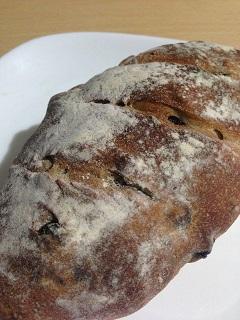 カフェ 余目製パン 天然酵母のぶどうパン(小)