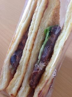カフェ 余目製パン フレンチトーストサンド