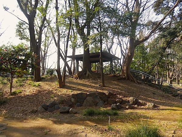「飛鳥山公園内の古墳かもしれない塚 その1」