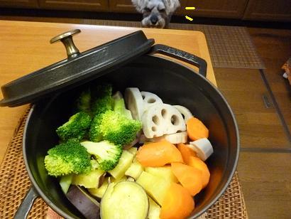 ストウブ野菜