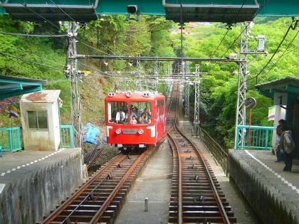 大山ケーブルカー04