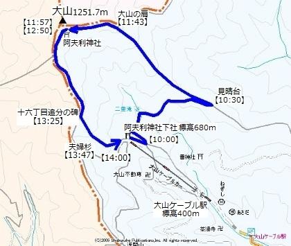大山ケーブルカー10