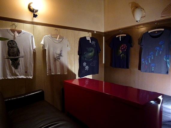 青い珊瑚礁 手描きTシャツ展