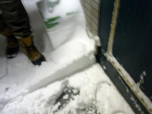 7雪かき&散歩