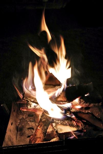 14焚き火