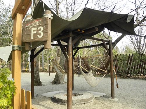 8キャンプサイト焚火