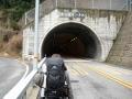 3kmのトンネルの入り口