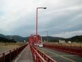 四万十川の赤鉄橋@中村
