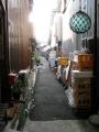 「大正市場」の路地裏