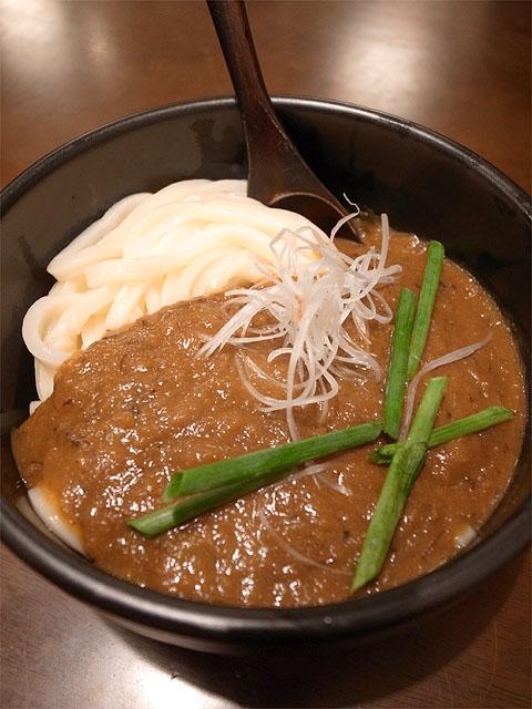140209上谷製麺屋-カレーうどん