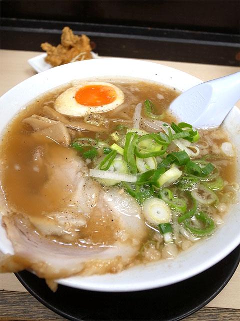 140329麺屋ジョニーベルロード-醤油ラーメン650円