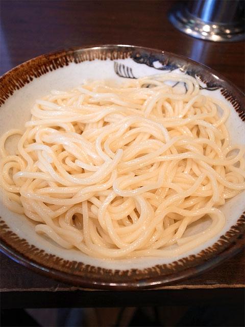 140419大勝軒みしま-特製もりそば・麺