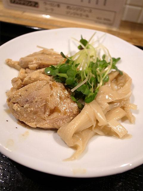 140504鶏神-特選鶏白湯らーめん・チャーシュー