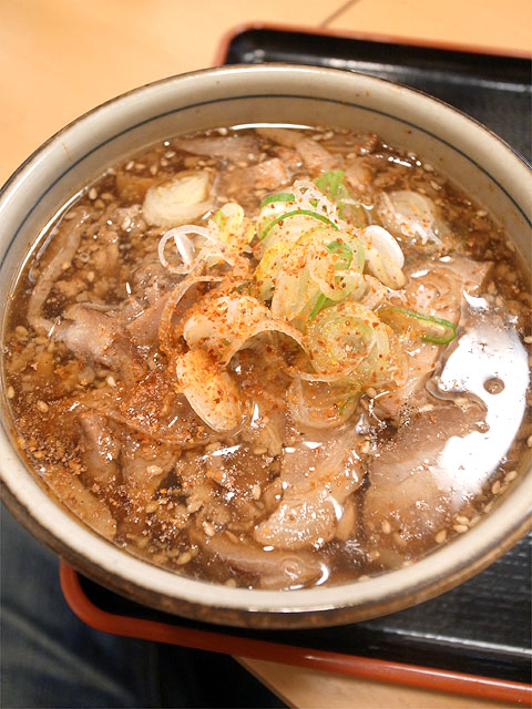 131016丸和各務原-肉野菜つけ麺・つけ汁