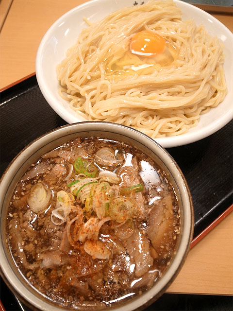 131016丸和各務原-肉野菜つけ麺