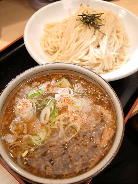 140508丸和各務原-肉野菜つけ麺おろし