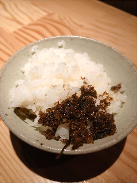 140626麺や一途-麺 利・サービスライス