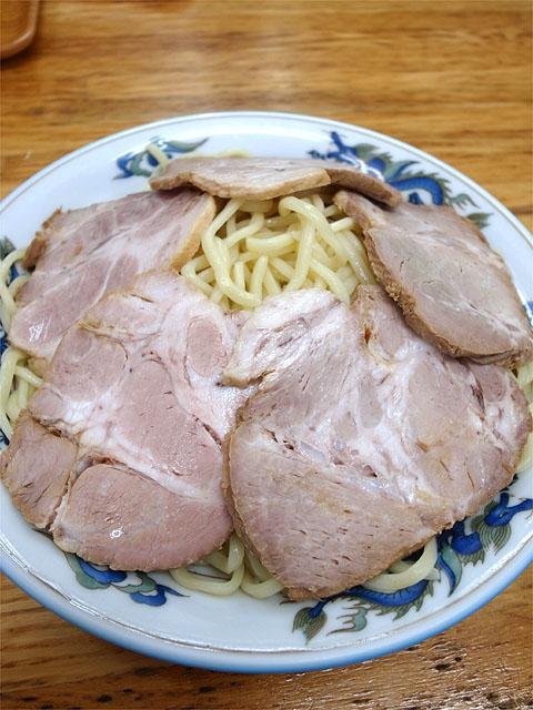 140628坂戸丸長-つけチャーシュー・麺