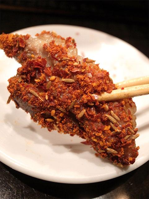 140628聚福樓-羊の背中の焼き物・調味料オン