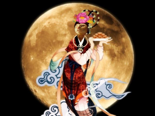 月の小夏嫦娥
