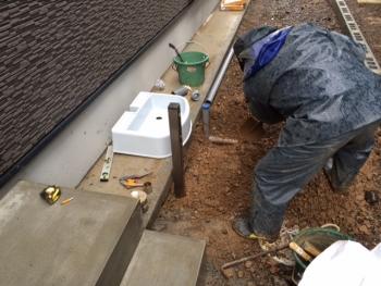 立水栓施工 20140215