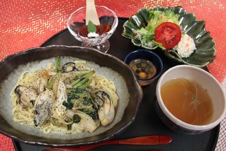 小松菜牡蠣