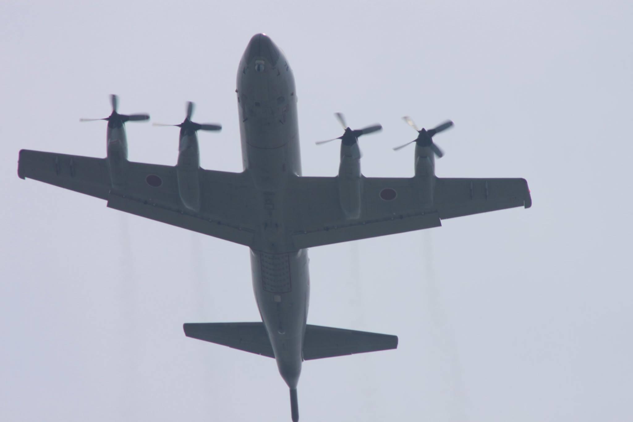 p3cによる慰霊飛行