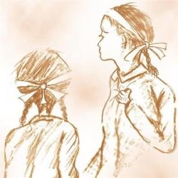 アキとカズ-遙かなる祖国・挿絵