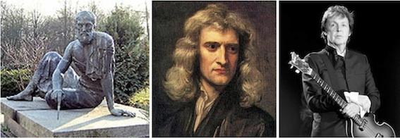 アルキメデス、ニュートン、マック
