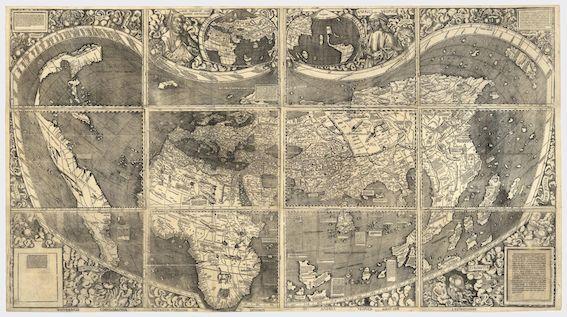 ヴァルトゼーミュラー地図