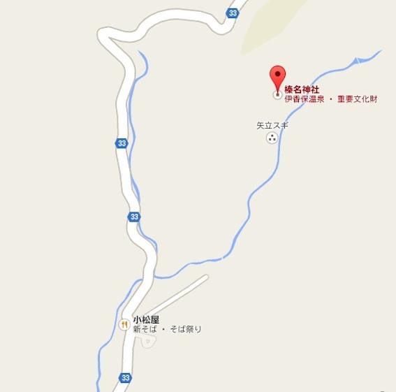榛名神社地図