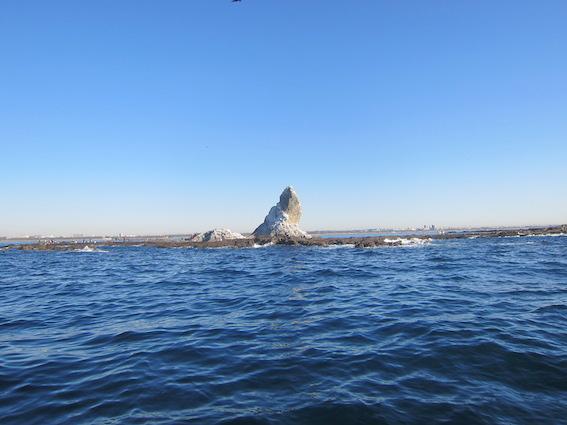 烏帽子岩写真