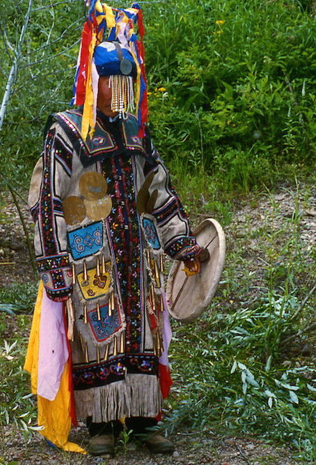 オロチョン族のシャーマン