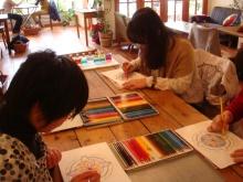 *日日色色*カラーセラピストYukimiの色模様。-201222nurie2s
