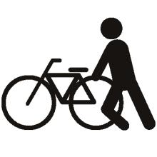 *日日色色*カラーセラピストYukimiの色模様。-ピクトグラム 自転車を盗む