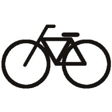 *日日色色*カラーセラピストYukimiの色模様。-ピクトグラム 自転車